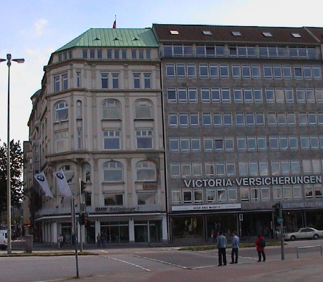 Neues Büro in Hamburg